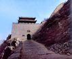中华长城0069,中华长城,中国图片,山坡 过道 城墙
