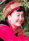 民俗人物0055,民俗人物,中国图片,少女 笑脸 服装