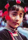 民俗人物0058,民俗人物,中国图片,头饰 服装 女孩