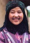 民俗人物0060,民俗人物,中国图片,少女 衣着 民俗