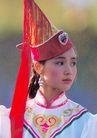 民俗人物0073,民俗人物,中国图片,蒙古 少女 尖帽