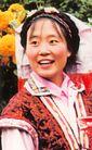 民俗人物0078,民俗人物,中国图片,壮族 家庭 主妇