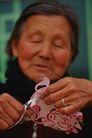 民俗人物0094,民俗人物,中国图片,婆婆 剪纸 艺术