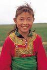 民俗人物0099,民俗人物,中国图片,小女孩 青海 服饰