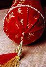 中国结0053,中国结,中国图片,中国红 枕头 竹席