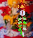 中国结0072,中国结,中国图片,绿色 垂吊 白玉