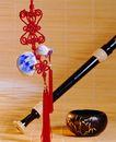 中国结0080,中国结,中国图片,中国节 长萧 竹帘