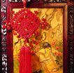 中国结0095,中国结,中国图片,镜框 水墨画 挂坠