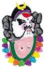 中华剪纸0209,中华剪纸,中国图片,佛珠 沙僧 月牙帽