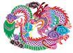 中华剪纸0220,中华剪纸,中国图片,彩绘
