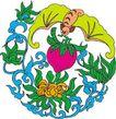 吉祥动物0075,吉祥动物,中国图片,蝙蝠 口含 红桃