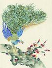 吉祥鸟0010,吉祥鸟,中国图片,梅花 树杆 抬脚
