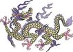 中华巨龙0048,中华巨龙,中国图片,紫色的龙