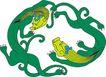中华巨龙0079,中华巨龙,中国图片,幼龙 相互 抓抱