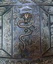 钟鼎器皿0075,钟鼎器皿,中国图片,铜制 屏风 腾龙