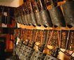 钟鼎器皿0094,钟鼎器皿,中国图片,秦钟 文物 击打
