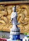 佛像艺术0127,佛像艺术,中国图片,观音 菩萨 佛像 莲花座 站立
