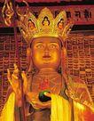 佛像艺术0128,佛像艺术,中国图片,唐僧 僧人 高僧 碗 手杖