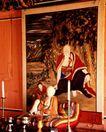 佛像艺术0129,佛像艺术,中国图片,壁画 和尚 台烛 仙翁 放沙发上