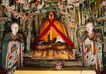 佛像艺术0169,佛像艺术,中国图片,红飘带
