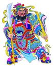 门神0004,门神,中国图片,凶猛 手握 大刀