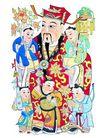 门神0017,门神,中国图片,侍童 侍候 仙君