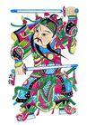 门神0018,门神,中国图片,宝剑 过头 招式