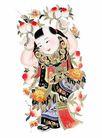 门神0022,门神,中国图片,金童 可爱 吉祥