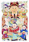 门神0032,门神,中国图片,幼童 文字 神像