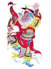 门神0037,门神,中国图片,武器 身姿 剪纸