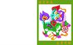 剪纸艺术0024,剪纸艺术,中国图片,贺卡 封面 喜庆