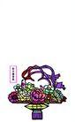 剪纸艺术0044,剪纸艺术,中国图片,花篮
