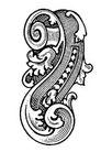 古代图案花纹0080,古代图案花纹,中国图片,卷绕 图框 装饰