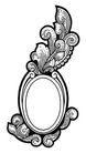 古代图案花纹0092,古代图案花纹,中国图片,铜镜 造型 艺术