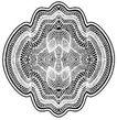 古代图案花纹0096,古代图案花纹,中国图片,圆环 针脚 缝补