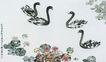 中国现代花鸟0155,中国现代花鸟,山水名画,山水名画