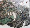 中国现代花鸟0157,中国现代花鸟,山水名画,