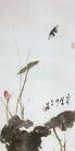 中国现代花鸟0162,中国现代花鸟,山水名画,蝴蝶