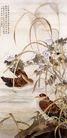 中国现代花鸟0187,中国现代花鸟,山水名画,花草 鸳鸯