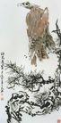 中国现代花鸟0195,中国现代花鸟,山水名画,雕 壮志 憧憬