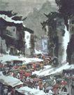 中国现代山水0144,中国现代山水,山水名画,