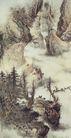 中国现代山水0149,中国现代山水,山水名画,