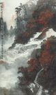 中国现代山水0153,中国现代山水,山水名画,