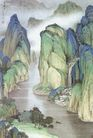 中国现代山水0154,中国现代山水,山水名画,