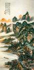 中国现代山水0155,中国现代山水,山水名画,