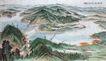 中国现代山水0167,中国现代山水,山水名画,