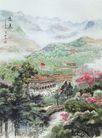 中国现代山水0169,中国现代山水,山水名画,