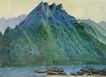 中国现代山水0170,中国现代山水,山水名画,
