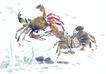 水下动物画0028,水下动物画,山水名画,