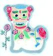 中国动物画0086,中国动物画,山水名画,图画 动物 衬托